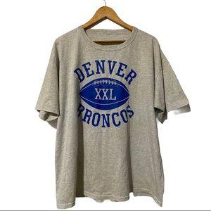 Vintage Single Stitch sleeves Denver Bronco Tee
